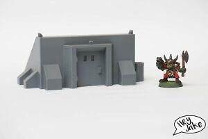 Wargaming Desert Terrain: Bunker Entrance – Warhammer 40K, 30K, Star Wars Legion