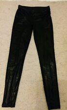 topshop black leggings size10