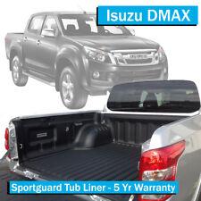 Isuzu D Max (2012-Current) - Sportguard Tub Liner - Dual Cab Ute