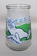 "Welch's LOONEY TUNES ""SNORE NO MORE"" Tapered Jelly Jar #7 Of 12"