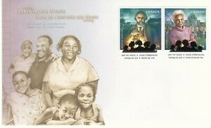Canada SCOTT FDC # 2316a BLACK HISTORY MONTH VAL. $ 4.15