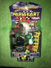 Toy Biz Mario Kart 64 Yoshi Figure Nintendo 1999 Rare New
