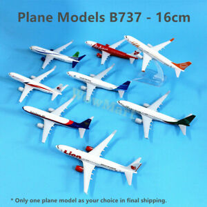 Quality Metal Aluminium 16cm Boeing 737 Aircraft Plane Model Airlines Collection