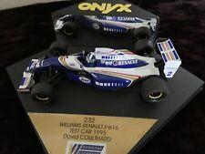 Onyx 1.43 David Coulthard Williams Renault FW16.Test car 1995.