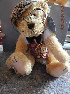 Brass Button Bear Collection, 2004, Bentley - the bear of wealth, NWT