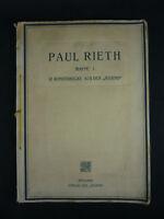 PAUL RIETH MAPPE 1. 12 KUNSTDRUCKE AUS DER JUGEND MÜNCHEN VERLAG DER JUGEND 1910