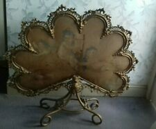RARE EXQUISITE FRENCH FIRE SCREEN MID 19TH CENTURY