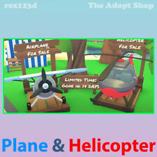 ✩Adopt me: (1) Monoplane & (1) Helicopter   BEST PRICE   USA SELLER   Roblox✩