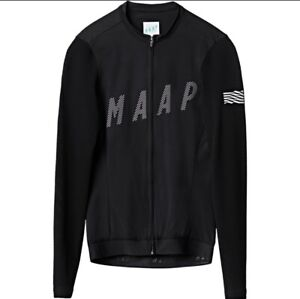 MAAP Echo Pro Base Long Sleeve Black Jersey - Medium