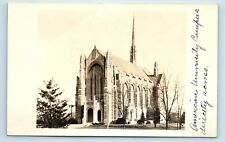 Washington DC - SCARCE EARLY 1900s RPPC OF NATIONAL CHURCH BEFORE ADDITIONS - Q1