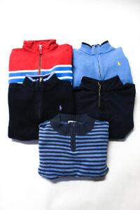 Polo Ralph Lauren Jamie & Jack Childrens Boys Sweaters Blue Size 7 6 Lot 5