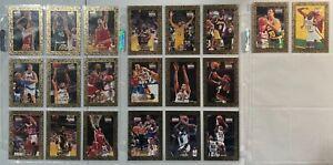 1995 NBA HOOPS 20 CARD GOLD MINE SET #431- #450 NM RODMAN KUKOC  IN PAGE SLEEVES