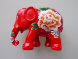 ELEPHANT PARADE ORNAMENT 7cm  PEONY ROSE