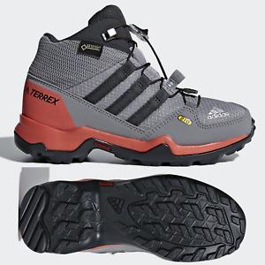 adidas Terrex GORE-TEX Mid Boys Girls Hiking Boots Trainers Walking Shoes Kids