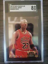 🔥 Michael Jordan 🔥 SGC 8 1992-93 Stadium Club #210 Chicago Bulls 🐐