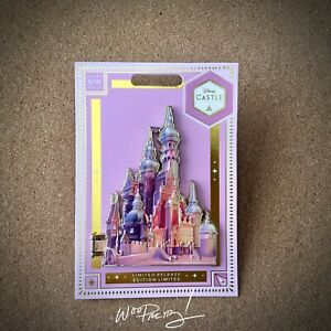 2020 LIMITED RELEASE Disney Rapunzel Castle Collection Jumbo Pin 5/10 NWT
