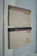 1997 Lexus sc300 sc400 Owners Manual Service Book original new