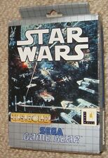 MIB BOX BOXED SEGA GAME GEAR STAR WARS CARTRIDGE STARWARS ACTION ADVENTURE