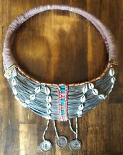 Rare Vintage Spiritual Mporro AFRICAN Wedding Necklace Collar Samburu Kenya