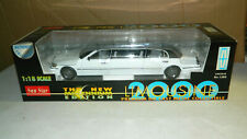 1/18 SCALE DIECAST SUNSTAR LINCOLN 2000 LIMOSINE CAR LIMO WHITE BOXED