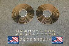 71 72 73 74 Cuda Challenger Windshield Clip Front & Rear Window Sealer Kit