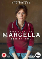 Marcella: Series Two DVD (2018) Anna Friel cert 15 2 discs ***NEW*** Great Value
