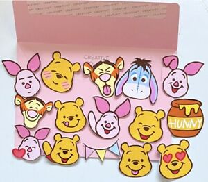 Winnie The Pooh Stickers Disney Cute Tigger Piglet