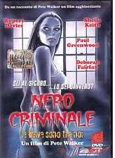Nero Criminale DVD Le Belve sono Tra Noi Pete Walker