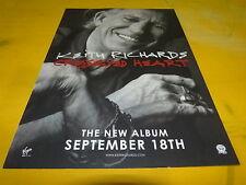 KEITH RICHARD - Publicité / Advert  !!! CROSSEYED HEART !!!!!!!!!