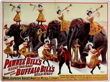 "Buffalo Bill'S Wild West 9"" x 12"" Sign"