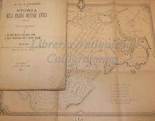 Corazzini, STORIA DELLA MARINA MILITARE ANTICA Documenti 1892 Catania 3 mappe