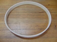 """New Keller 12 Ply 1-3/4"""" x 20"""" Maple Bass Drum Hoop, Unfinished"""