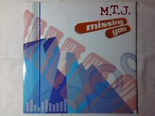 "M.T.J. Missing you 12"" ITALO ZONE RARISSIMO"