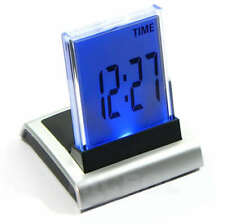 7 LED Change Colour Digital LCD Alarm Clock with Thermometer Calendar UK