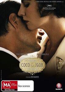 Coco Chanel & Igor Stravinsky DVD R4 BRAND NEW/SEALED and