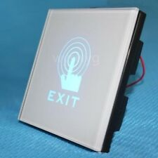2013 White Wall Mount Touch Sensor Switch LED light of Access Control system