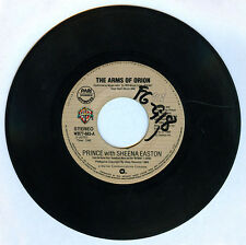 Philippines PRINCE with SHEENA EASTON The Arms Of Orion 45 rpm Record