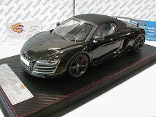 """FrontiArt F036-04 # Audi R8 GT Spyder Baujahr 2009 in """" schwarz """" 1:18"""