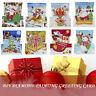 5D DIY Mosaic Greeting Card Christmas Xmas Postcards Birthday Gift Home Decor