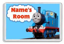 Personalised Thomas The Tank Engine Kids Bedroom Door Plaque *SIZE= 9.5 x 6.5cm*