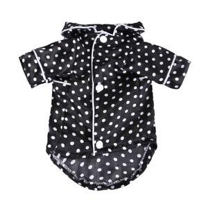 US Pet Dog Cat Pajamas Style Jumpsuit Clothes For Small Medium Pet Apparel