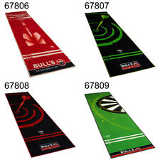 BULL'S Dart Carpet-Mat Dartmatte Dartteppich 120 Green 140 Red 140 Green 180 Red