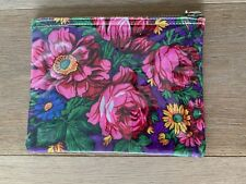 New Floral Flower Print Pouch
