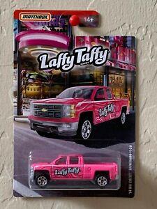 Matchbox Candy Car Series Laffy Taffy '14 MB Chevy Silverado 1500 Pink