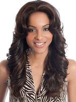 100% Human Hair! New Dark Brown Human Hair Trends Long Wavy Curly Wig