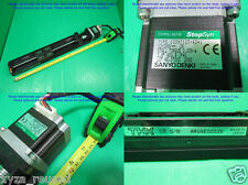 THK KR33A & StepSyn, Linear actuator - Pitch 10 Travel ≈ 210 mm.+motor,sn:26 dφm
