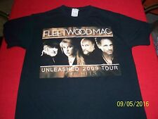 Fleetwood Mac 2009 Medium Concert t-shirt Cities on back Very nice condition