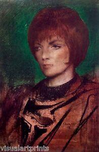 Annigoni Pietro / Evelyn / Italian Masterpiece.