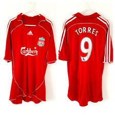Liverpool Home TORRES Shirt 2006. Large. Original Adidas Red Adults Football Top