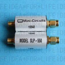 1PCS USED GOOD Mini-Circuits SLP-550 DC-520MHz SMA Low-Pass Filter
